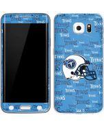 Tennessee Titans - Blast Galaxy S6 Edge Skin