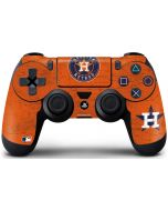 Houston Astros Distressed PS4 Controller Skin