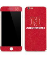 Nebraska Cornhuskers iPhone 6/6s Plus Skin