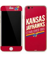 Kansas Jayhawks Established 1865 iPhone 6/6s Skin