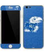 Kansas Jayhawks Mascot Outline iPhone 6/6s Skin