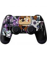 Splatter Paint Tasmanian Devil PS4 Controller Skin