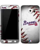 Atlanta Braves Game Ball Galaxy S6 Edge Skin