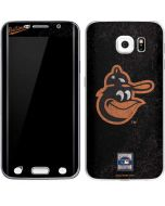 Baltimore Orioles - Cooperstown Distressed Galaxy S6 Edge Skin