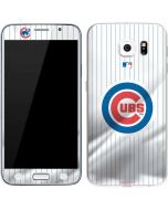 Chicago Cubs Home Jersey Galaxy S6 Skin