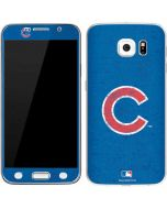 Chicago Cubs - Solid Distressed Galaxy S6 Skin
