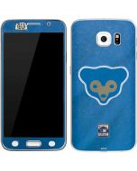 Chicago Cubs - Cooperstown Distressed Galaxy S6 Skin
