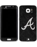 Atlanta Braves Dark Wash Galaxy S6 Edge Skin
