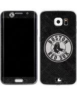 Boston Red Sox Dark Wash Galaxy S6 Edge Skin