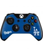 Los Angeles Dodgers - Solid Distressed Xbox One Controller Skin