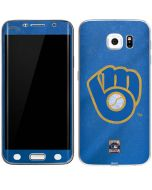 Milwaukee Brewers - Cooperstown Distressed Galaxy S6 Edge Skin