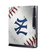 New York Yankees Game Ball Playstation 3 & PS3 Slim Skin