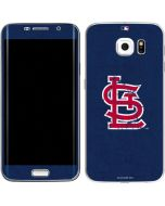 St. Louis Cardinals- Alternate Solid Distressed Galaxy S6 Edge Skin