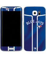 Toronto Blue Jays Alternate Jersey Galaxy S6 Edge Skin