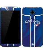 Toronto Blue Jays Alternate Jersey Google Nexus 6 Skin