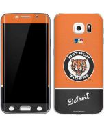 Vintage Tigers Galaxy S6 Edge Skin