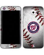 Washington Nationals Game Ball Galaxy S6 Edge Skin