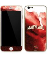Maryland Red Marble iPhone 6/6s Skin