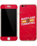 Maryland Terrapins Stripes iPhone 6/6s Skin