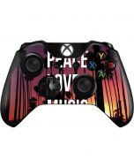 Peace Love And Music Xbox One Controller Skin