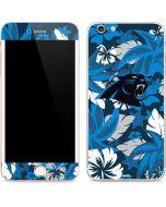 Carolina Panthers Tropical Print iPhone 6/6s Plus Skin