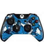 Carolina Panthers Tropical Print Xbox One Controller Skin