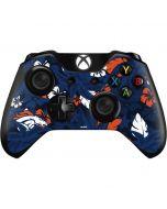 Denver Broncos Tropical Print Xbox One Controller Skin