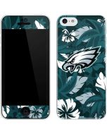 Philadelphia Eagles Tropical Print iPhone 5c Skin