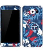 Tennessee Titans Tropical Print Galaxy S6 Edge Skin