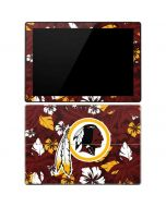 Washington Redskins Tropical Print Surface Pro 3 Skin