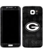 Green Bay Packers Black & White Galaxy S6 Edge Skin