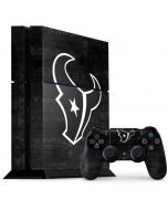 Houston Texans Black & White PS4 Console and Controller Bundle Skin