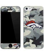 Denver Broncos Camo iPhone 5c Skin
