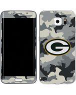 Green Bay Packers Camo Galaxy S6 Edge Skin