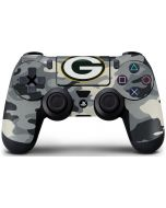 Green Bay Packers Camo PS4 Controller Skin