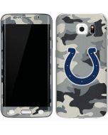 Indianapolis Colts Camo Galaxy S6 Edge Skin