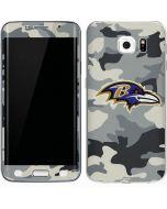 Baltimore Ravens Camo Galaxy S6 Edge Skin