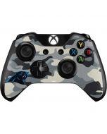 Carolina Panthers Camo Xbox One Controller Skin