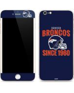 Denver Broncos Helmet iPhone 6/6s Plus Skin