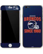 Denver Broncos Helmet iPhone 6/6s Skin