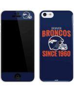 Denver Broncos Helmet iPhone 5c Skin