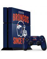 Denver Broncos Helmet PS4 Console and Controller Bundle Skin