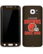Cleveland Browns Helmet Galaxy S6 Edge Skin