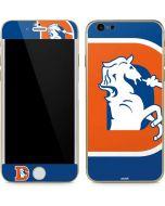 Denver Broncos Retro Logo iPhone 6/6s Skin