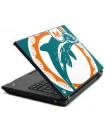 Miami Dolphins Retro Logo Lenovo T420 Skin