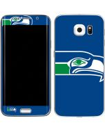Seattle Seahawks Retro Logo Galaxy S6 Edge Skin