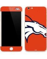 Denver Broncos Large Logo iPhone 6/6s Plus Skin