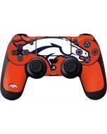 Denver Broncos Large Logo PS4 Controller Skin