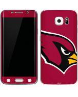Arizona Cardinals Large Logo Galaxy S6 Edge Skin