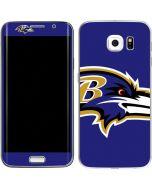 Baltimore Ravens Large Logo Galaxy S6 Edge Skin